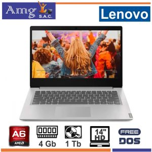 Laptop LENOVO IdeaPad 145-14AST AMD A6 9225 2.6Ghz. 14″ LED HD 1366 X 768, 4Gb MEMORIA DDR4, 1Tb Disco Rigido