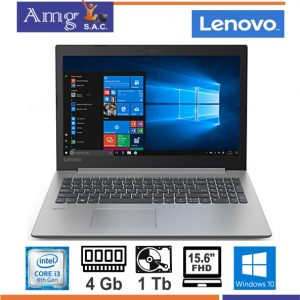 "NOTEBOOK LENOVO IDEAPAD 330-15IKB INTEL CORE I3 8130U RAM 4GB HDD 1TB 15.6""FHD W10"