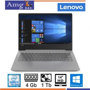 Laptop Lenovo V130-14ikb I3-7020u, 4gb, 1tb, 14 Hd