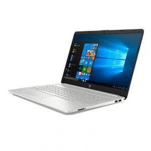 LAPTOP HP 15-DW2033LA 1035G1 1.0Ghz. hasta 3.6 Ghz TBoot 6M Cache  Pantalla 15.6″ FHD LED 1920 X 1080, Memoria 8Gb. ddr4 2666Mhz, Disco de 1Tb. Video Nvidia MX130 2Gb. Gddr5, Windows 10 Home Original.