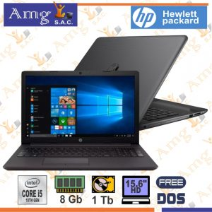 LAPTOP HP 250 G7 i5 1035G1 1.0Ghz. hasta 3.6Ghz, Pant.15.6″ HD LED 1366 X 768, Memoria 8Gb. ddr4, Disco 1Tb.